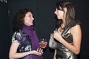 KATRINA BURROUGHS; CHLOE MACKINTOSH, The ICA's Psychedelica Gala Fundraising party. Institute of Contemporary Arts. The Mall. London. 29 March 2011. -DO NOT ARCHIVE-© Copyright Photograph by Dafydd Jones. 248 Clapham Rd. London SW9 0PZ. Tel 0207 820 0771. www.dafjones.com.