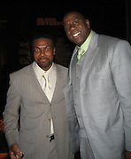 Chris Tucker & Magic Johnson.Black Enterprise Magazine Party.Beverly Whilshire Hotel.Beverly Hills, California, USA.Wednesday, February 21, 2007.Photo By Celebrityvibe; .To license this image please call (212) 410 5354 ; or.Email: celebrityvibe@gmail.com ;
