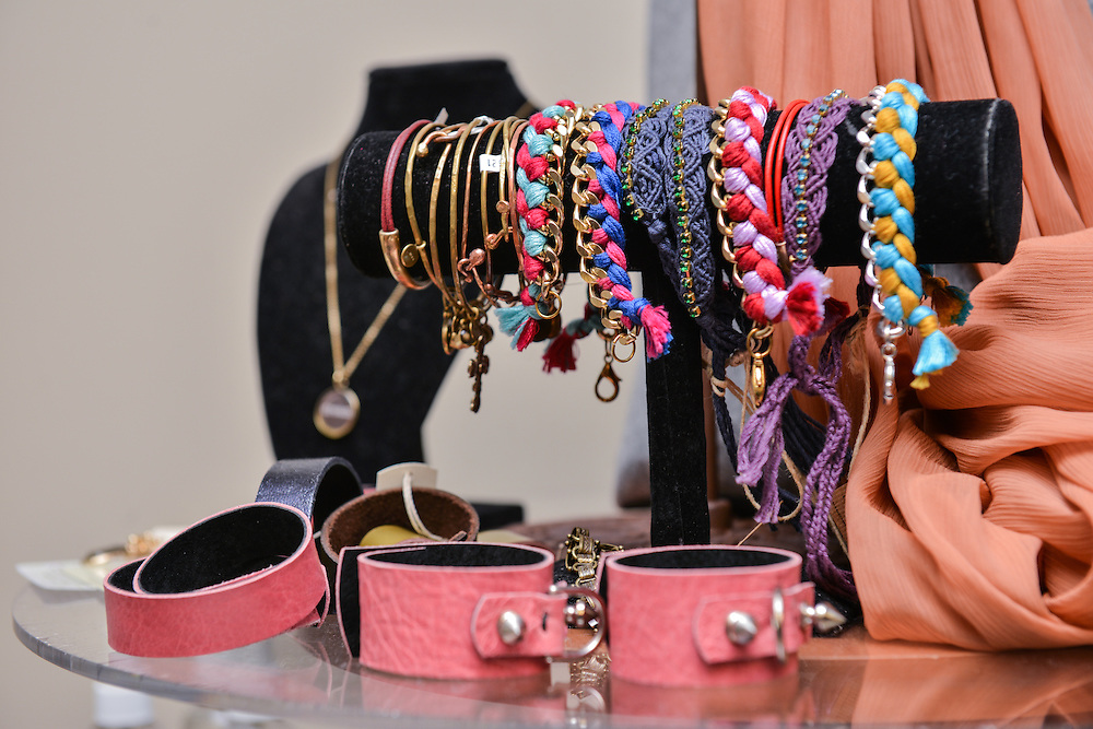 Assorted bracelets for sale at NOTO Boutique.