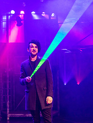 The Pleasance venue launched its 2017 Edinburgh Fringe Festival programme hosted by comedian Ed Gamble<br /> <br /> Pictured: Colin Cloud playing at Pleasance Courtyard