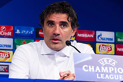 Zoran Mamic, head coach of GNK Dinamo Zagreb during press conference after football match between GNK Dinamo Zagreb, CRO and Arsenal FC, ENG in Group F of Group Stage of UEFA Champions League 2015/16, on September 16, 2015 in Stadium Maksimir, Zagreb, Croatia. Photo by Urban Urbanc / Sportida