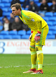 David Stockdale of Birmingham City- Mandatory by-line: Nizaam Jones/JMP - 10/03/2018 -  FOOTBALL -  Cardiff City Stadium- Cardiff, Wales -  Cardiff City v Birmingham City - Sky Bet Championship