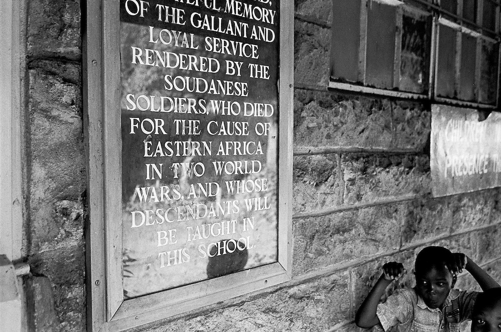 The Kibera Primary School opened in 1953 and was built specifically so that future generations of Nubians could go to school. Queen Elizabeth inaugurated the school when it opened in 1953.