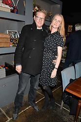 ED GRANT and CHLOE DELEVINGNE GRANT at a party to celebrate the publication of Flourish by Willow Crossley held at OKA, 155-167 Fulham Rd, London on 4th October 2016.