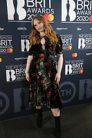 Freya Ridings attends the BRIT Awards 2020 - The BRITs Are Coming, The Riverside Studios, London, UK, Sunday 08 December 2019<br /> Photo JM Enternational
