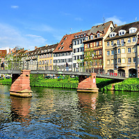 Ponte de l&rsquo;Abreuvoir in Strasbourg, France <br />