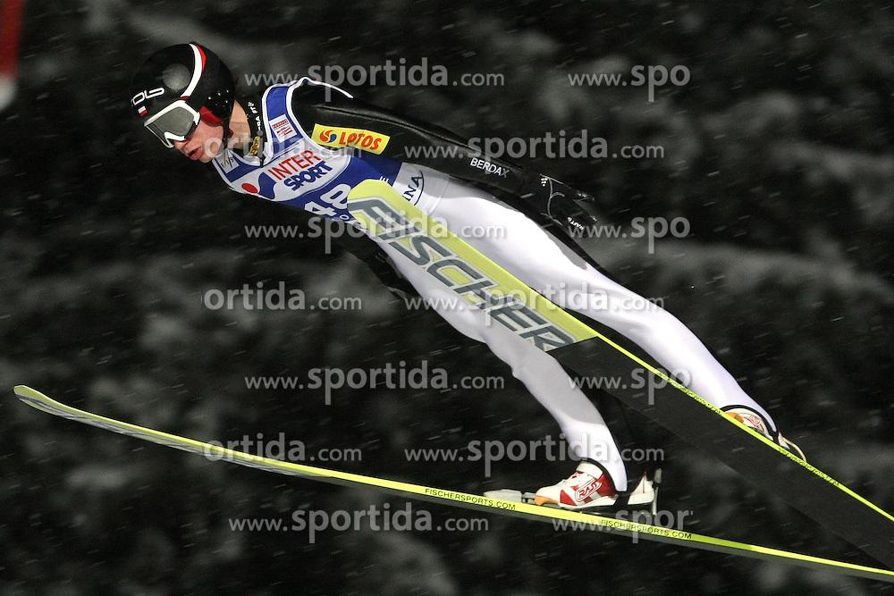 20.01.2011, Zakopane, POL, FIS World Cup Ski Jump, Men, Qualifikation, im Bild KAMIL STOCH // during FIS Ski Jumping World Cup In Zakopane Poland ond 20/1/2011. EXPA Pictures © 2011, PhotoCredit: EXPA/ Newspix/ Tomasz Markowski +++++ ATTENTION - FOR AUSTRIA/AUT, SLOVENIA/SLO, SERBIA/SRB an CROATIA/CRO CLIENT ONLY +++++..