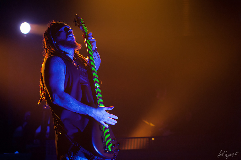 Korn performs at The Congress Theater in Chicago, IL on February 24, 2012