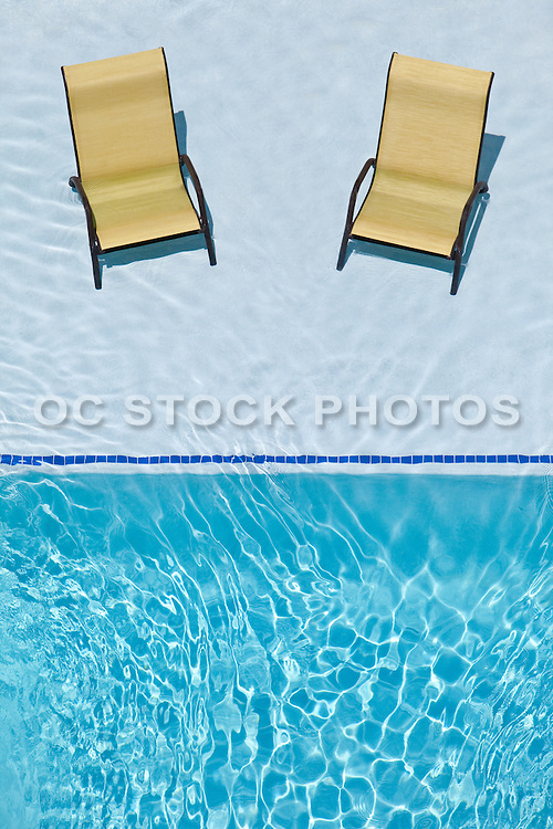 Lounge Chairs In The Pool