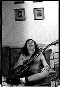 Angus Young, London Hotel 1986
