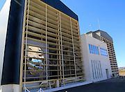 Solar furnace energy research establishment near Tabernas, Almeria, Spain