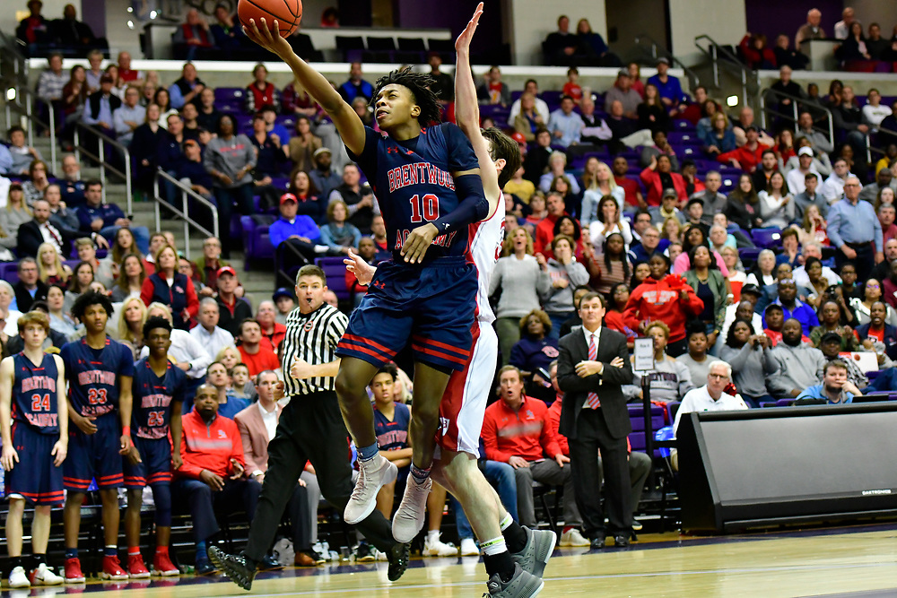 Cleveland Cavaliers Point guard Darius Garland plays his last game as a Brentwood Academy Eagle.