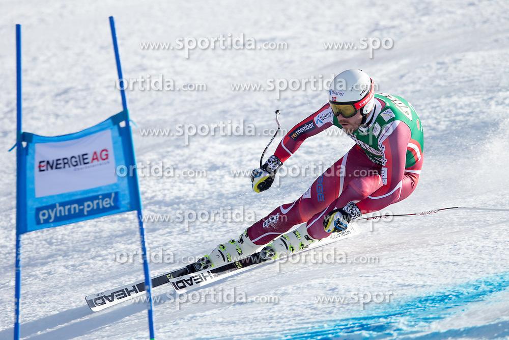 27.02.2016, Hannes Trinkl Rennstrecke, Hinterstoder, AUT, FIS Weltcup Ski Alpin, Hinterstoder, Super G, Herren, im Bild Kjetil Jansrud (NOR) // Kjetil Jansrud of Norway competes during his run of men's Super G of Hinterstoder FIS Ski Alpine World Cup at the Hannes Trinkl Rennstrecke in Hinterstoder, Austria on 2016/02/27. EXPA Pictures © 2016, PhotoCredit: EXPA/ Johann Groder