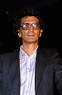 Roma 1983.Toni Negri  eletto deputato nelle liste del Partito Radicale