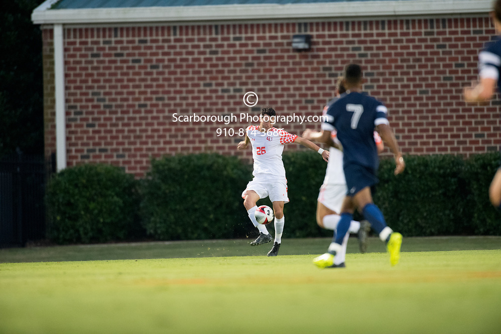2017 Campbell University Men Soccer vs UNC Greensboro
