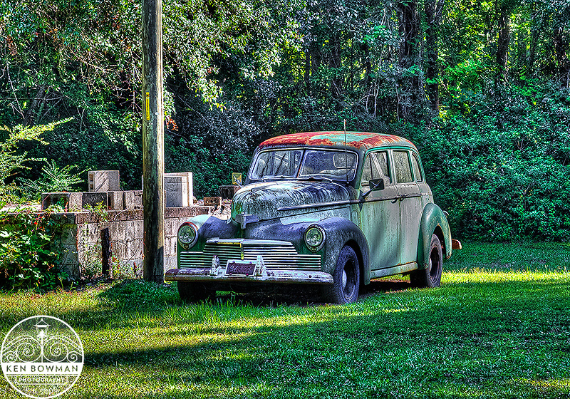 Old Desoto  on the way to Paradisde Boat Landing.