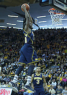 January 14, 2011: Michigan Wolverines guard Tim Hardaway Jr. (10) dunks the ball during the NCAA basketball game between the Michigan Wolverines and the Iowa Hawkeyes at Carver-Hawkeye Arena in Iowa City, Iowa on Saturday, January 14, 2011. Iowa defeated Michigan 75-59.