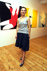 Artist NATASHA LAW at an exhibition of her work entitles 'Room' hosted by the Eleven gallery in association with Ruinart champagne at 121 Charing Cross Road, London WC2 on 16th January 2008.  Following the private view a dinner was held at Soho House hosted by Ruinart.<br /> <br />  (EMBARGOED FOR PUBLICATION IN UK MAGAZINES UNTIL 1 MONTH AFTER CREATE DATE AND TIME) www.donfeatures.com  +44 (0) 7092 235465