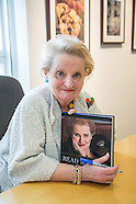 Madeline Albright visits Phoenix Art Museum
