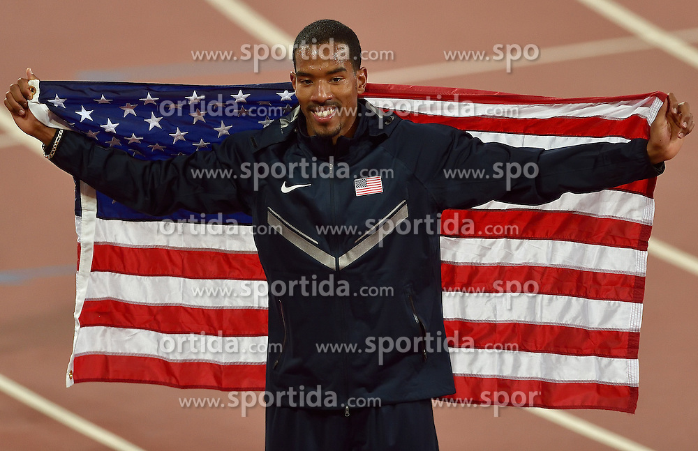 27-08-2015 CHN: IAAF World Championships Athletics day 6, Beijing<br /> Christian Taylor USA winner at  triple jump with result 18.21 m