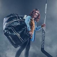 Regina Cougars Women's Ice Hockey Goaltender, Jane Kish