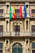 Ayuntamiento, town hall, in Pamplona, Navarre, Northern Spain