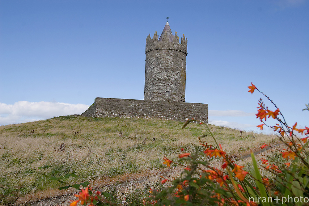 Castle in the outskirts of Doolin, County Claire, Ireland
