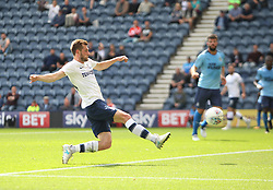 Tom Barkhuizen of Preston North End scores his sides first goal - Mandatory by-line: Jack Phillips/JMP - 22/07/2017 - FOOTBALL - Deepdale - Preston, England - Preston North End v Newcastle United - Pre-Season Club Friendly