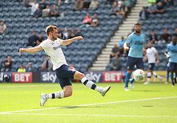 Tom Barkhuizen of Preston North End scores his sides first goal - Mandatory by-line: Jack Phillips/JMP - 22/07/2017 - FOOTBALL - Deepdale - Preston, England - Preston North End v Newcastle United - Pre-Season Club Friendly