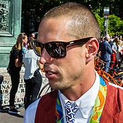 NLD/Den Haag/20160824 - Huldiging sport Rio 2016, surfer Dorian van Rijsselberghe