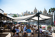 May 24-27, 2017: Monaco Grand Prix. Atmosphere near Casino Square