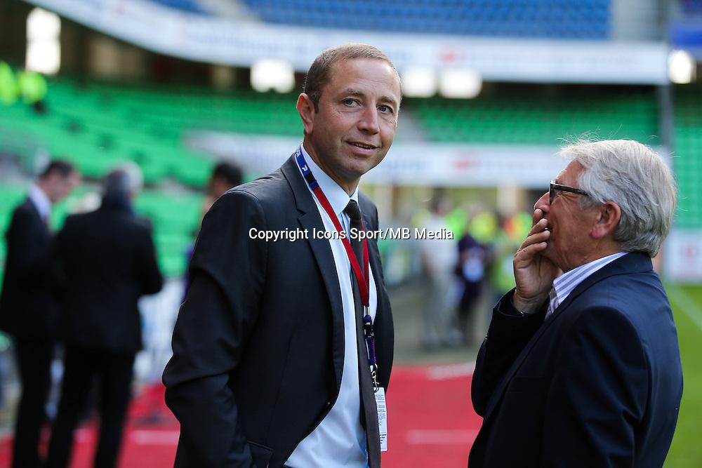 Bertrand DESPLAT - 12.04.2015 - Rennes / Guingamp - 32eme journee de Ligue 1 <br /> Photo : Vincent Michel / Icon Sport