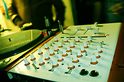 Photograph of a soundboard, UK, 1990s.