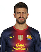 F.C. Barcelona 2012 / 2013. Gerard Pique...Photo: Gregorio / ALFAQUII