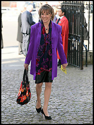 Esther Rantzen arrives at Westminster Abbey for the service to celebrate the life and work of Sir David Frost, Westminster Abbey, London, United Kingdom. Thursday, 13th March 2014. Picture by Andrew Parsons / i-Images