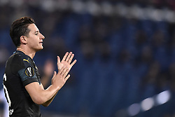 November 8, 2018 - Rome, Rome, Italy - Florian Thauvin of Olimpique de Marseille looks dejected during the UEFA Europa League Group Stage match between Lazio and Olympique de Marseille at Stadio Olimpico, Rome, Italy on 8 November 2018. (Credit Image: © Giuseppe Maffia/NurPhoto via ZUMA Press)