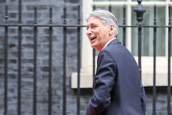 © Licensed to London News Pictures. 10/12/2018. London, UK. Philip Hammond - Chancellor arrives in Downing Street for a meeting with Prime Minister, Theresa May. Photo credit: Dinendra Haria/LNP