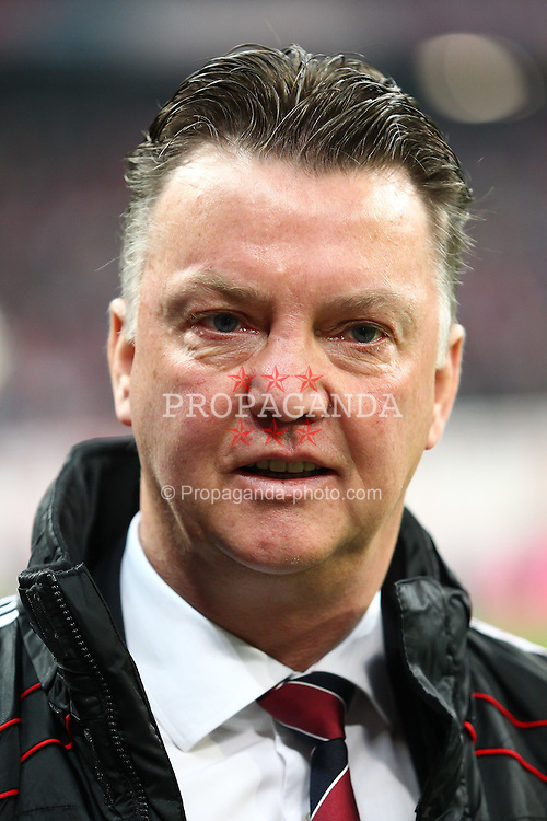 26.03.2011, Allianz Arena, Muenchen, GER, 1.FBL, FC Bayern Muenchen vs Borussia Dortmund, im Bild  Louis van Gaal (Trainer Bayern) , EXPA Pictures © 2011, PhotoCredit: EXPA/ nph/  Straubmeier       ****** out of GER / SWE / CRO  / BEL ******