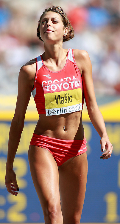 Berlin World Championships 2009 -August 18 - Day 4 -Morning *** Local Caption *** Blanka Vlasic - HJ Gold Croatia