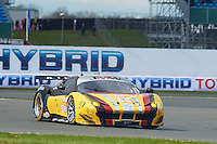 Robert Smith (GBR) / Rory Butcher (GBR) / Andrea Bertolini (ITA) #66 JMW MOTORSPORT, Ferrari F458 Italia, European Le Mans Series, Round 1, at Silverstone, Towcester, Northamptonshire, United Kingdom. April 16 2016. World Copyright Peter Taylor/PSP.