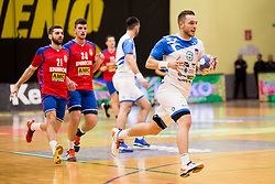 Gasper Marguc of Slovenia during Handball friendly match before EURO 2018 between Slovenia and Serbia, on January 10, 2018 in Rdeca dvorana, Velenje, Slovenia. Photo by Urban Urbanc / Sportida