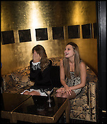 JEMIMA KHAN; MATILDA CURTIS; , Party to celebrate Vanity Fair's very British Hollywood issue. Hosted by Vanity Fair and Working Title. Beaufort Bar, Savoy Hotel. London. 6 Feb 2015