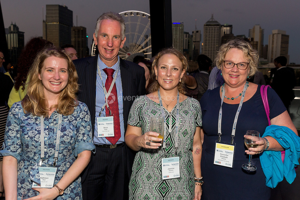 Symposium by Night. CORPORATE/EVENT: Queensland Law Society Symposium 2015. Brisbane, Queensland. 2015. Photo By Pat Brunet/Event Photos Australia