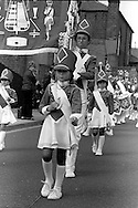 Edlington Diamonds Jazz Band. 1983 Yorkshire Miner's Gala. Barnsley