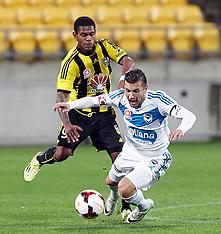 Wellington-Football, A-League, Phoenix v Melbourne Victory, April 12