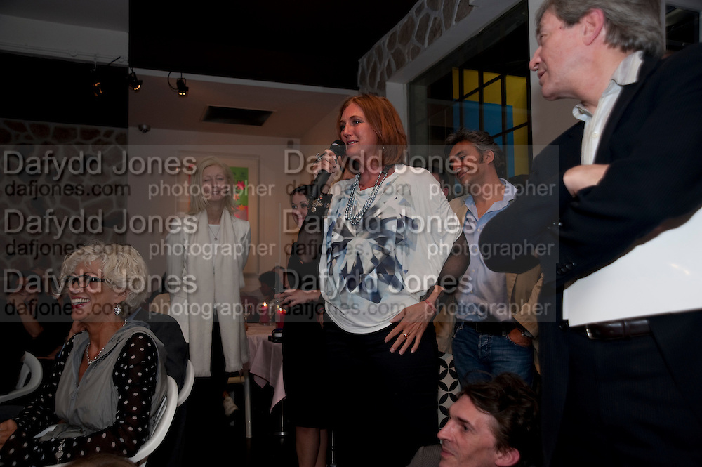 ARCHDUCHESS Francesca von Habsburg , The Launch of Food for thought, Thought for Food, The Creative Universe of El Bulli's Ferran Adria. Edited by Richard Hamilton and Vincente Todoli. The double Club, 7 Torrens st. London EC1. 22 June 2009