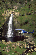 Helicopter, Waimea Canyon, Kauai, Hawaii, USA<br />