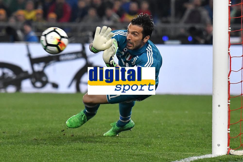 Gianluigi Buffon Juventus <br /> Roma 09-05-2018  Stadio Olimpico  <br /> Football Calcio Finale Coppa Italia / Italy's Cup Final 2017/2018 Juventus - Milan<br /> Foto Andrea Staccioli / Insidefoto