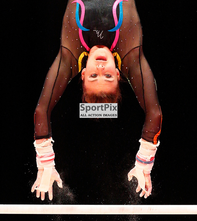 2015 Artistic Gymnastics World Championships being held in Glasgow from 23rd October to 1st November 2015...Ruby Harrold (Great Britain) competing in the Uneven Bars competition...(c) STEPHEN LAWSON | SportPix.org.uk