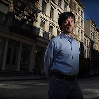 "Ken Burns celebrated documentary film maker in SoHo, New York City. His new Doc ""the War"" has been criticized by Latino advocacy groups because contributions of over half a million Hispanic troops were all but ignored in the 15 hour film."